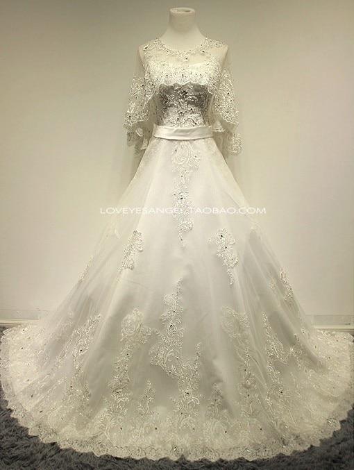 Free Shipping Ball Bridal Gown Bandage Casamento Crystal Appliques Vestido De Noiva 2018 New Fashion Romantic Wedding Dress