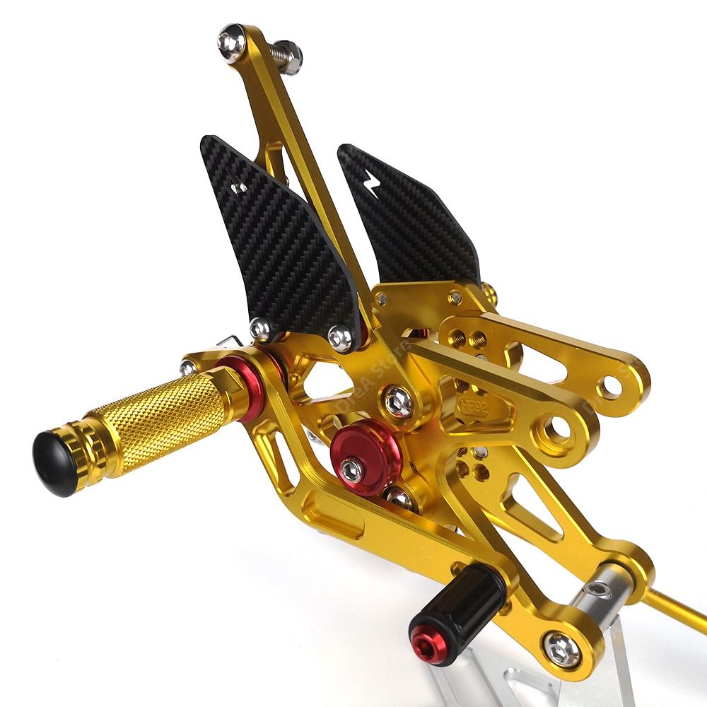 Купить r1 yzf r1 педаль мотоцикла ремонт подножки подножки регулируемая
