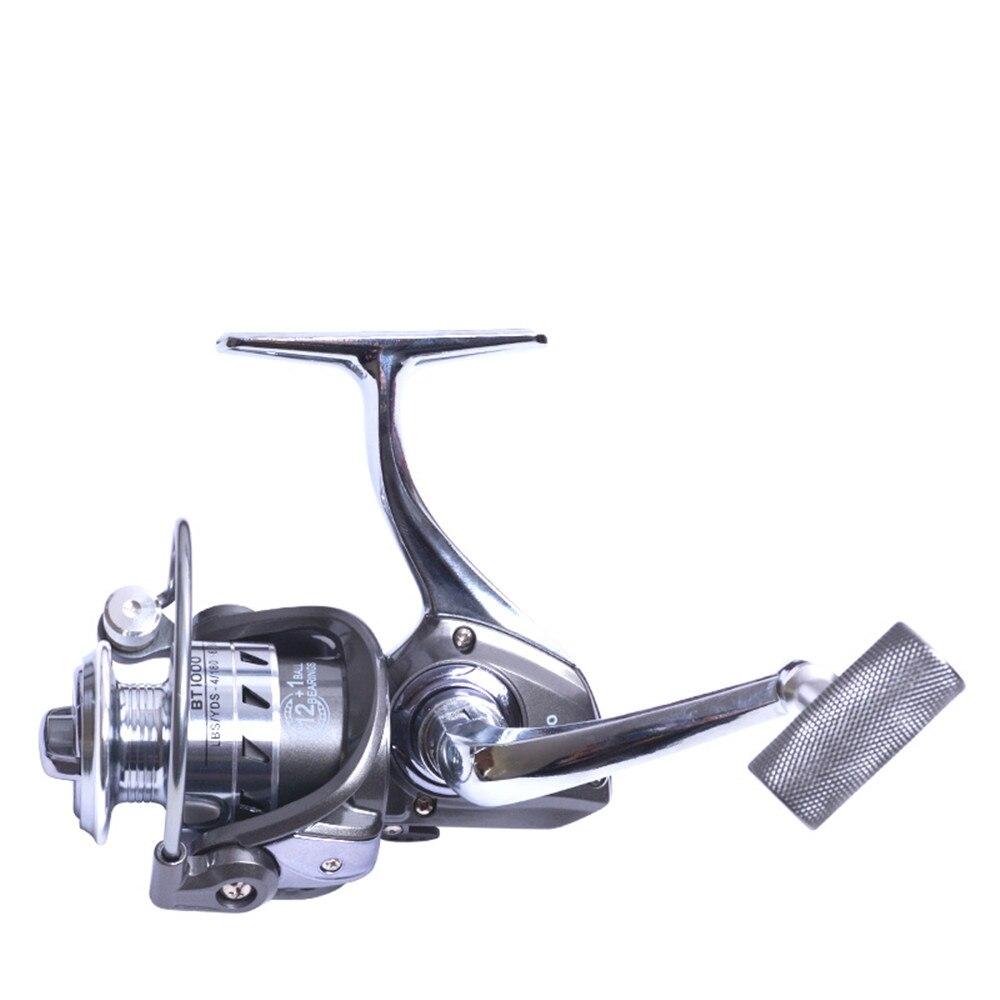 Olta makarası çıkrığı 12 + 1 BB Metal iplik makaraları ağır sürüş tekne balıkçılık Reel 5.2: 1 sazan balıkçılık Spinner pesca aracı