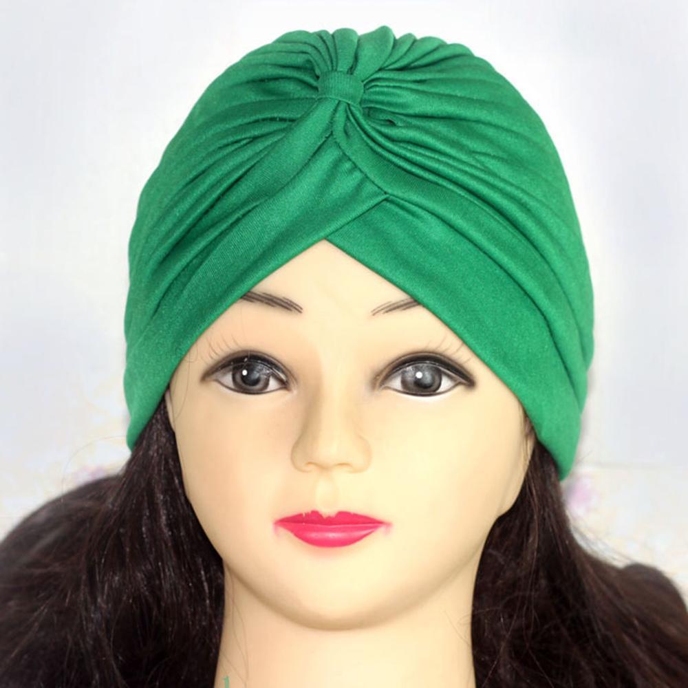 Хиджаб шарф тюрбан шапка s мусульманский головной платок Защита от солнца Кепка Женская хлопковая мусульманская многофункциональная тюрбан платок femme musulman - Цвет: 6
