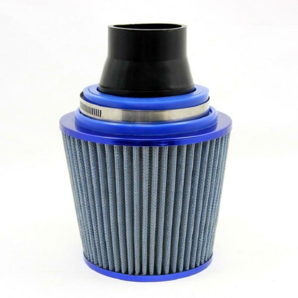 "Universal 76mm-63mm Car Air Intake System Air Filter Pipe Tube Hose 3""-2.5"" 1x"