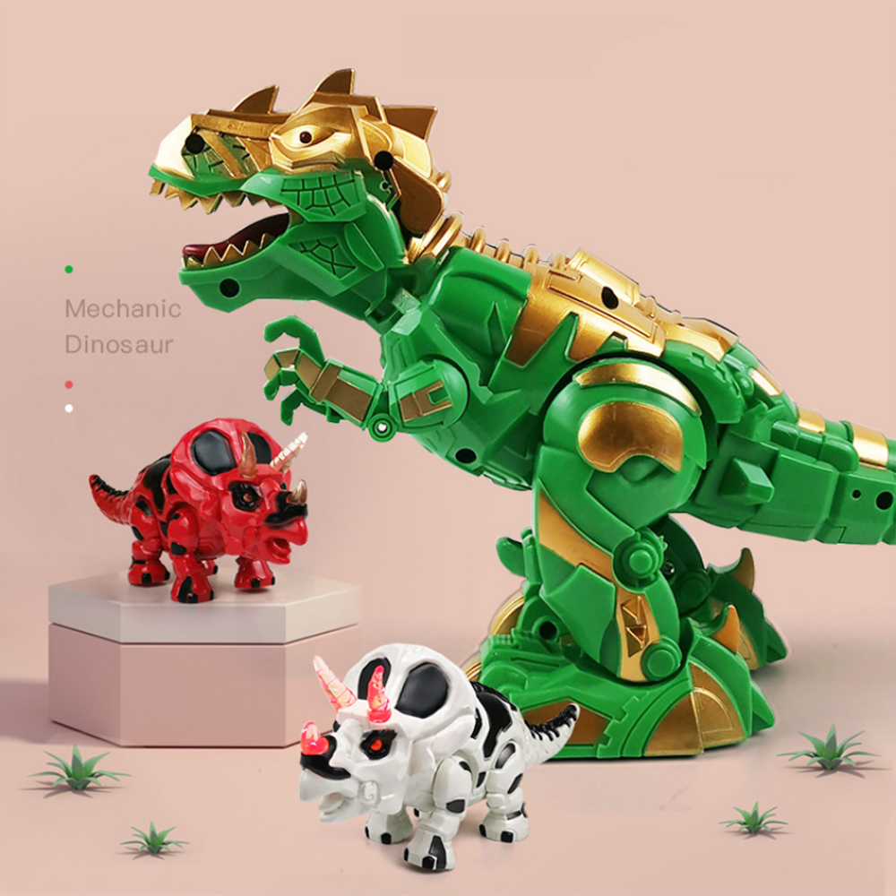 Electric Walking Rex Dinosaur Dragon Toy With Projection Lights Roar Sounds For Boy Kids Christmas Gifts Children Toys