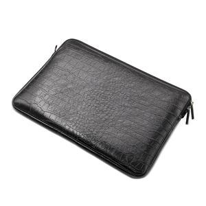 Image 2 - Waterdichte Lederen Laptop Sleeve Bag Notebook Case Cover Pouch Voor 12 13 15 inch Macbook Air Pro Retina