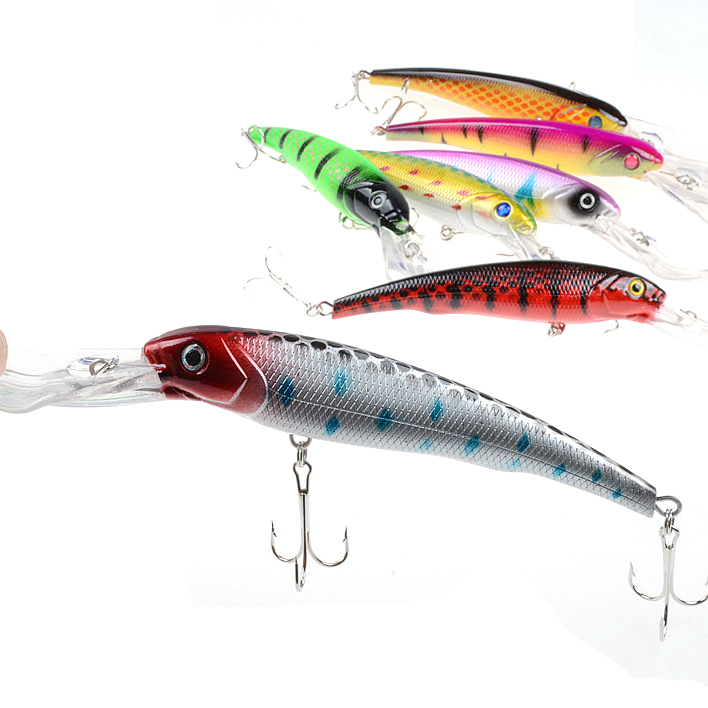 Minnow 16 5 For Cm 27 9 G Fishing Tackle Outdoor Recreation 3d Bionic Eyes Good Qualit Allure Colorful Popular Plastic Leisure in Fishing Lures from Sports Entertainment