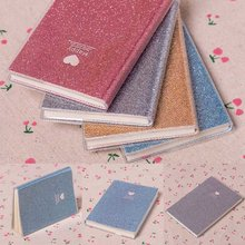 Paper Notebook Schedule-Planner Diary Agenda Cool Love PVC 1pc Random-Color Creative