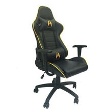 купить Topsale Racing Style High-Back PU Leather Office Wholesales Computer and Ergonomic Swivel Gaming Chair with Footrest дешево