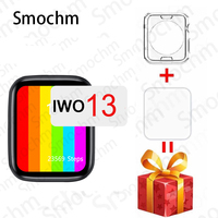 Smochm-reloj inteligente IWO 13 Pro W56, dispositivo inalámbrico con pantalla infinita, 44MM, 40MM, resistente al agua, Bluetooth, compatible con IOS y Android