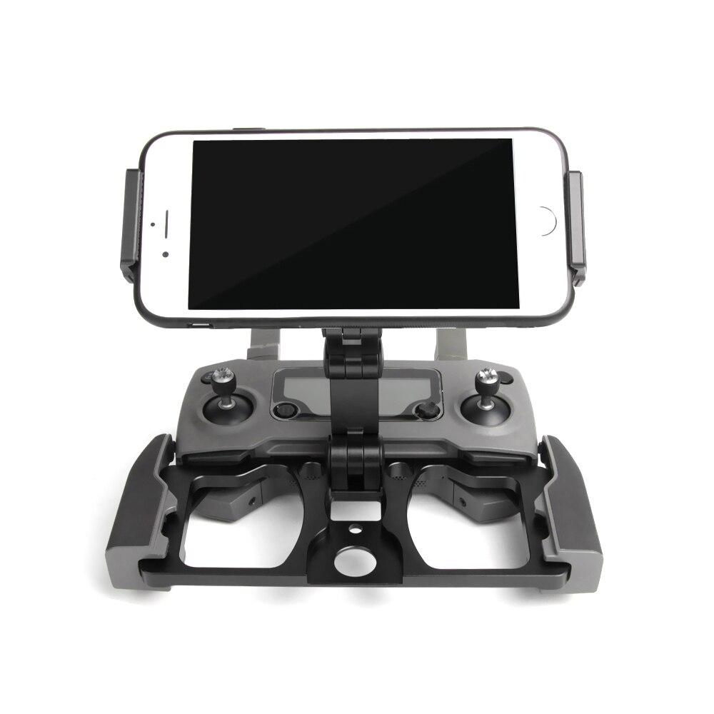 Support de tablette de télécommande support de téléphone support de pliage en métal pour DJI Mavic 2 Zoom Pro Spark Mavic Pro MINI Drone d'air - 5