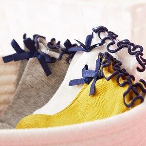 Image 5 - Balabalaเด็กถุงเท้าฤดูใบไม้ร่วงถุงเท้าเด็กหญิงBreathableฝ้ายหวานสามคู่