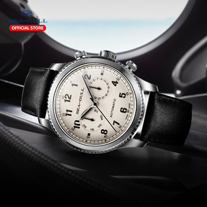 Image 5 - Seagull Mens Watch Fashion Leisure Sports Automatic Mechanical Watch Calendar Sapphire Commander Series  819.23.6081H