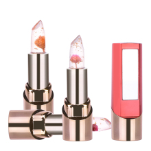 New Flower Jelly Lipstick Temperature Changed Long-Lasting Lip Balm Moisturizer Lips Makeup