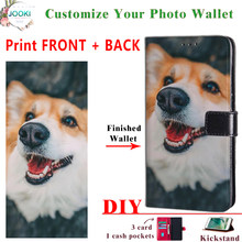 Create Your Own Custom Phone Customized Case for Sony Xperia 8 Wallet Leather DIY Print Cover For Xperia 8(China)