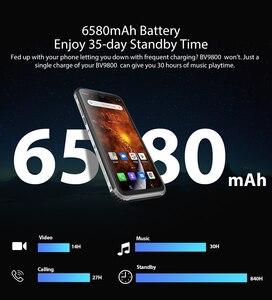 Image 4 - Смартфон Blackview BV9800 на Android 9,0, экран 6,3 дюйма, IP68 и IP69K, Восьмиядерный процессор Helio P70, 6 ГБ + 128 Гб, камера 48 МП, Беспроводная зарядка