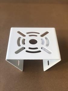 Image 5 - Owlcat fora da câmera de cctv suporte de aro de ferro pólo montagem titular suporte coluna stent metal para câmera de vigilância por vídeo