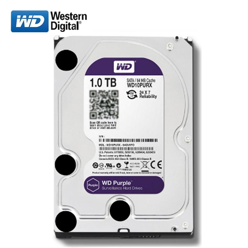 WD 2TB desktop computer 3 5inch internal mechanical hard drive SATA 1TB 2TB 3TB  4TB 6Gb s hard drive 64MB 7200RPM  5400RPM