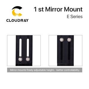 Image 4 - Głowica laserowa Cloudray CO2 pierwsze mocowanie lustrzane Dia. 25mm lustro odblaskowe 25mm integracyjne mocowanie maszyny do cięcia Lase