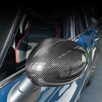 Car Carbon Fiber Accessories Outer Mirror Decoration Exterior Trim Car Styling For MINI COOPER F54 F55 F56 F57 F60 R55 R56 R60