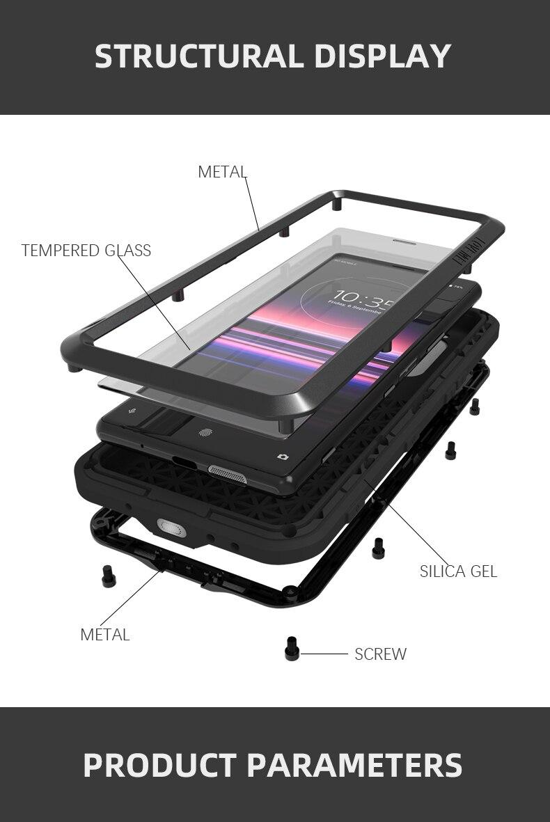 capa de telefone para sony xperia 5