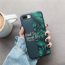 Soft Silicone Phone Case for Huawei Mate20 Pro Honor 10 Mate10 P30 P20 Fashion INS Leaf Cover Funda