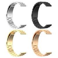 20 мм Регулируемые часы ремешок на запястье для samsung Galaxy часы активное 2 40/44 мм черного и золотого цвета розового золота и цвета: золотистый, се...