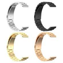 20mm regulowany pasek na rękę pasek na rękę do zegarka Samsung Galaxy Active 2 40/44mm czarne złoto różowe i złote srebro