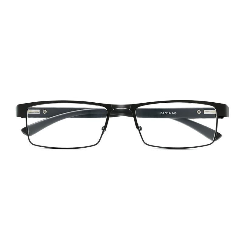 RBENN occhiali da lettura da uomo con montatura in metallo occhiali da lettura Vintage da uomo Hyperopia Eyewear 1.25 1.75 2.75 3.75 5.0 6.0 2