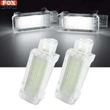 LED Footwell Courtesy Luggage Trunk Light For VW Jetta MK5 Tiguan Touareg Transporter T5 Eos Scirocco For Porsche Cayman White