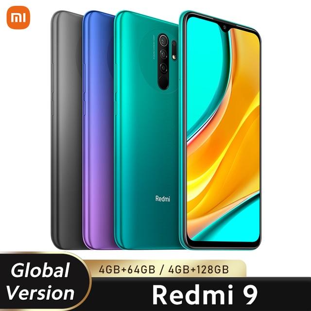 "Global Version Xiaomi Redmi 9 3GB 32GB/ 4GB 64GB Smartphone Helio G80 Octa Core 13MP Quad Camera 6.53"" FHD+ Display 5020mAh NFC 2"