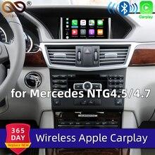 Sinairyu Wi-Fi беспроводной Apple Carplay Android авто зеркало A B C E G GL ML класс для Mercedes NTG4.5 4,7 автомобиль играть Airplay iOS 13