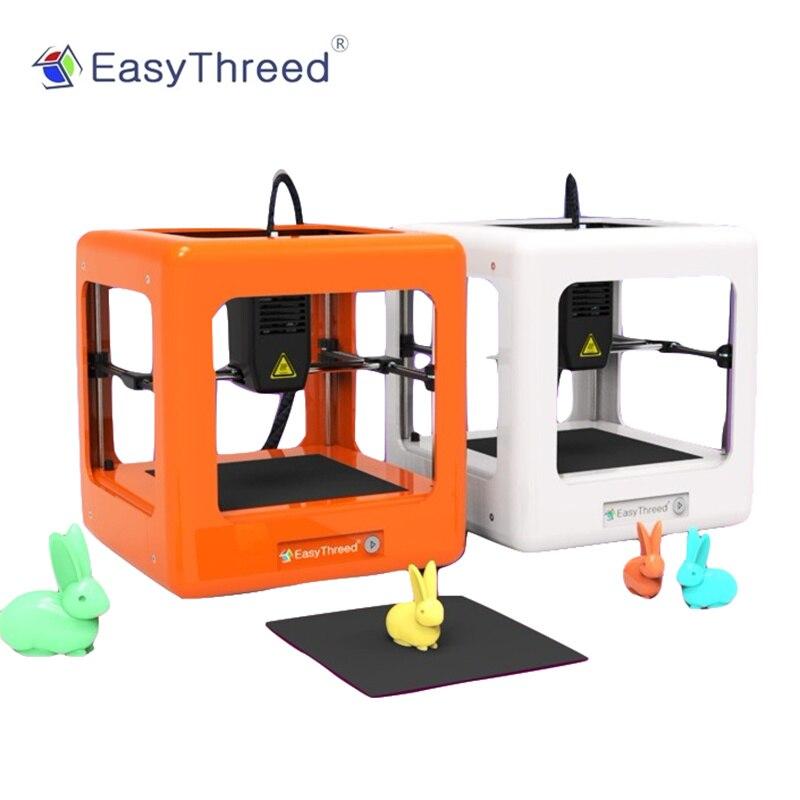EasyThreed Nano 3D Impressora Portátil Mini Educacional DIY Kit de Impressão para Crianças mini impressora 3d de Uma Chave Do Presente empresora 3d Do Natal