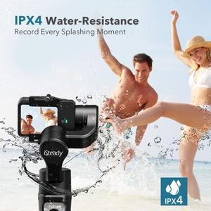 Image 5 - 3 осевой карданный стабилизатор для экшн камеры GoPro 8 ручной карданный стабилизатор для Gopro Hero 8,7,6,5,4,3, Osmo Action Hohem iSteady Pro 3