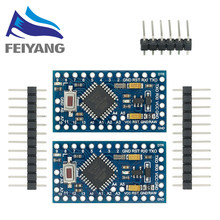 Mini Pro 328 3.3V/8M 5V/16M, 10 pièces, ATMEGA328, pour Arduino