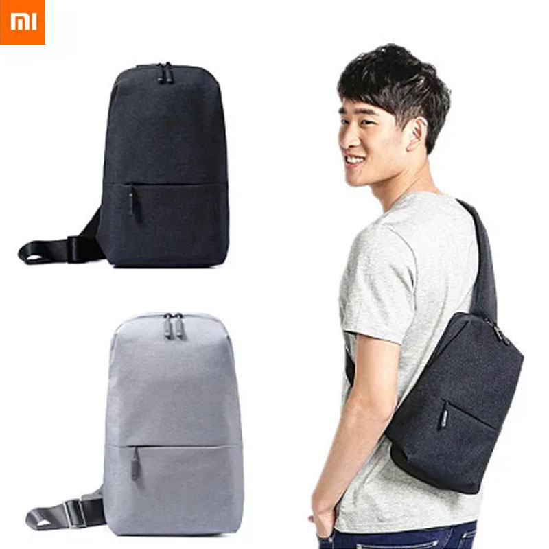 Xiaomi Multi function Sport Chestbag Backpack Urban Casual Diagonal Chest Bag Shoulder Type Unisex Canvas Fashion Backpack|Smart Remote Control| - AliExpress