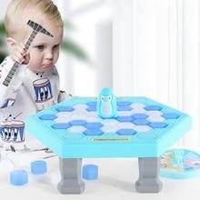 Мини-ловушка в виде пингвина, настольная игра, интерактивные развлекательные настольные игрушки для родителей и детей, устройство для снят...