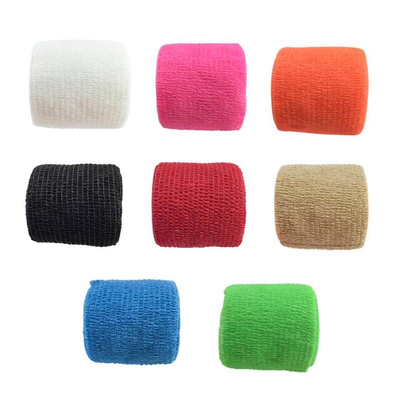 8pcs 4 5m Non Woven Fabric Self Adhesive Elastic Bandage Wrap Tape