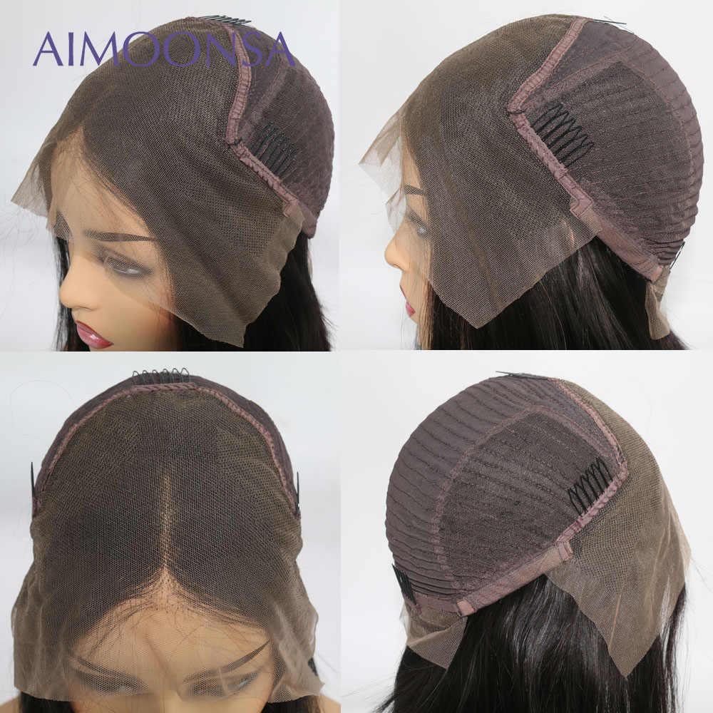 Парики из натуральных волос на фронте имбиря оранжевого цвета, парики из натуральных волос для черных женщин, 150%, Короткие парики для волос 13x6