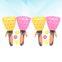 Catch-Balls Game Outdoor And Play for Kids 4pcs-Transmitter-10pcs Activity Launch Launch