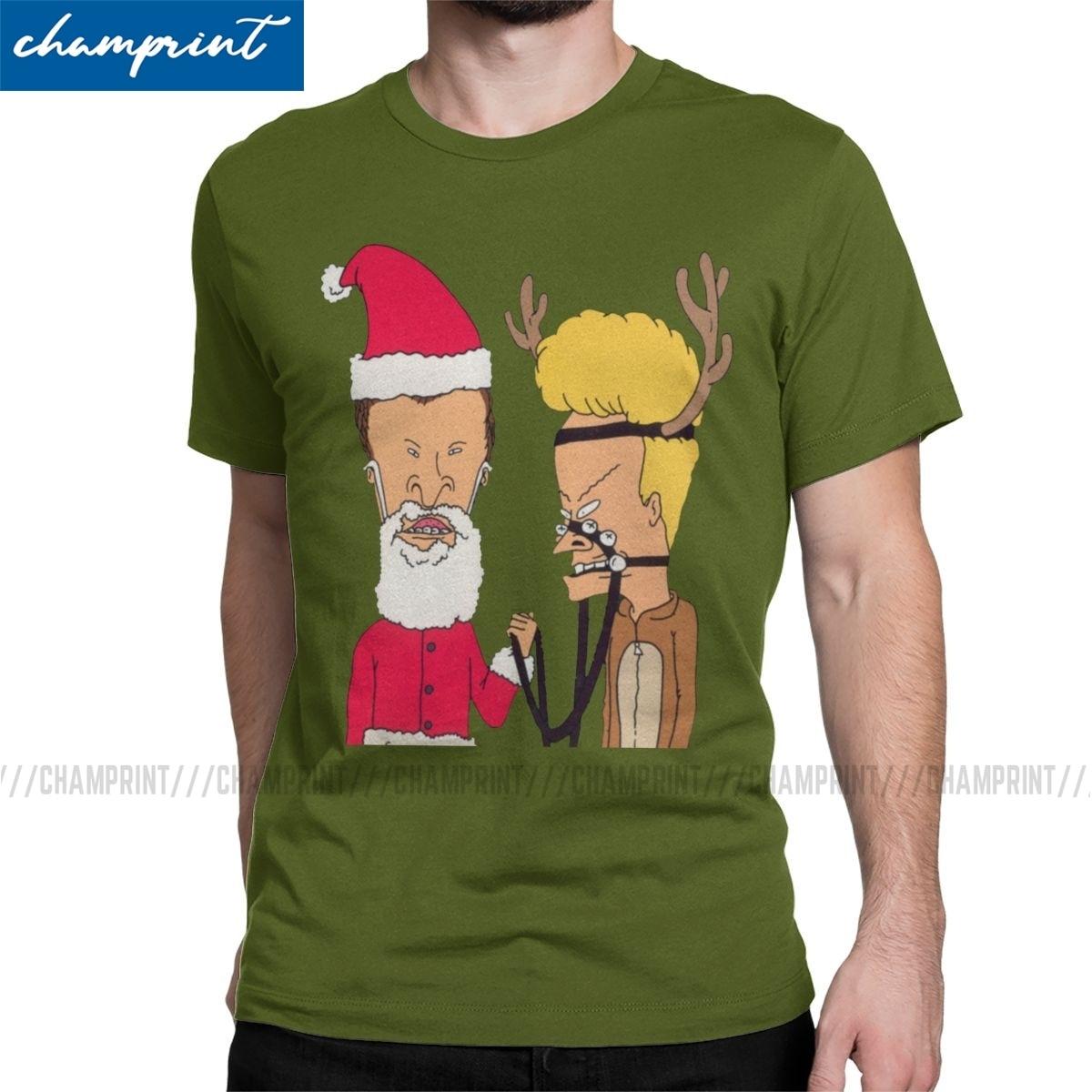 Beavis Cartoons Cornholio Hard Rock Party shirt Custom T-shirt