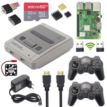 Raspberry Pi 3 Model B + Game Kit + Draadloze Gamepads + 32 Gb Sd-kaart + Power Adapter + hdmi | Retroflag Superpi Case Voor Retropie(China)