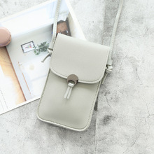 Women Phone Bag  Wallets Leather Shoulder Transparent Bag Student Card Holders Women Handbag Ladies Clutch Purse 2020 New