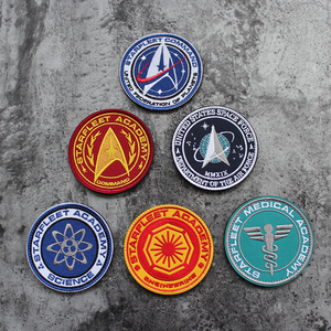 US SPAZIO FORCE Army Star Patch Ricamo Spartan Alien Morale Tattico Stripes Vestiti Velcro Toppe E Stemmi Per I Vestiti Zaino(China)
