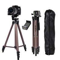 Fosoto WT3130 en alliage d'aluminium Mini appareil photo trépied avec support pour téléphone pour Canon Nikon Sony DSLR appareil photo numérique DV caméscope