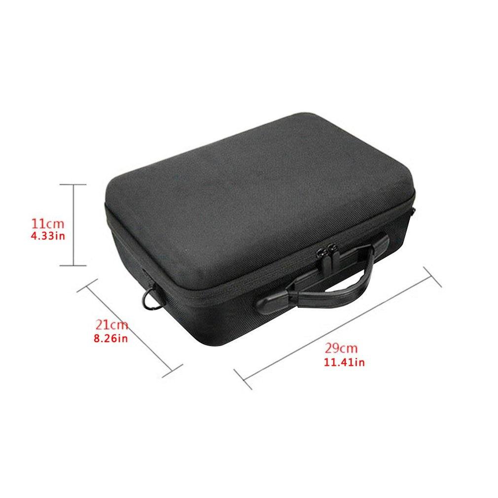Для Мавика про жесткий плечо водонепроницаемая сумка чехол портативный хранения коробка оболочки сумка PU сумка нейлон беспилотный аксессуары