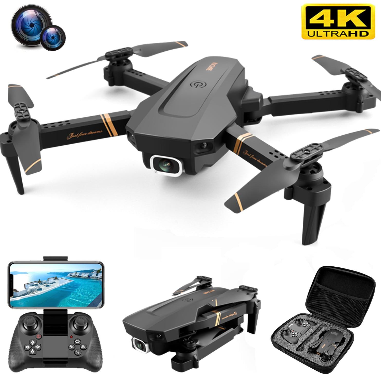 2021 новый V4 4K/1080P дронов RC дрон с разрешением 4k WI-FI видео в режиме реального времени с видом от первого лица HD 4k Широкий формат profesional Камера ква...