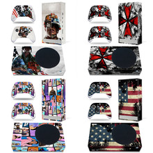 XSS Series S Colorful Skin Sticker Decals Cover for Xbox Series S Console And 2 Controllers Vinyl Skins Game Accessories