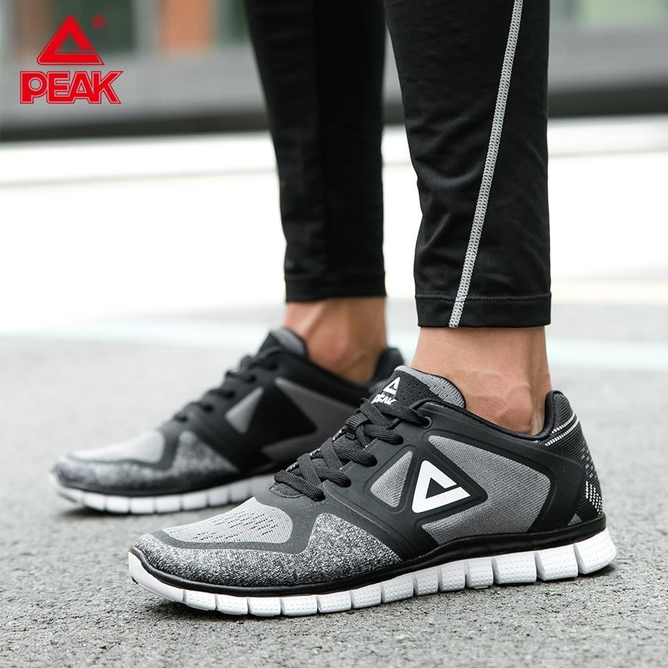 Picco Runningg Scarpe per Gli Uomini Ultra Luce di Lavoro a Maglia Superiore Antiscivolo Wearable Sneakers da Tennis Casual Fitness di Formazione Calzature Scarpe