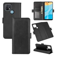 Case For OPPO A15 Leather Wallet Flip Cover Vintage Magnet Phone Case For OPPO A15 Coque