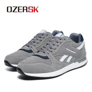 Image 5 - Кроссовки OZERSK Мужские дышащие, повседневная обувь на плоской подошве, Классические брендовые, размеры 36 45, осень 2021