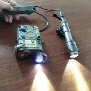 Image 2 - Element Airsoft PEQ 15 Tactical Flashlight Surefir M600  PEQ 15 Red IR Gun Laser Lantern For Hunting Lantern Weapon Light PEQ