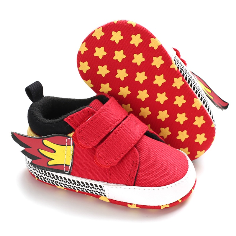Autumn Baby Boy Anti-Slip Casual Walking Shoes Wings Design Sneakers Soft Soled First Walkers Baby Shoes